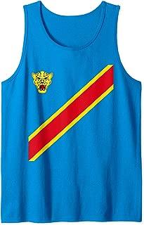 Congo Football Souvenir Flag Of DRC Leopards Proud Congolese Tank Top