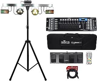 Chauvet GigBar 2.0 Light FX Bar w/Tripod+Footswitch+Remote+Bag+DMX Controller