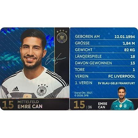 Rewe DFB Sammelkarten Fußball WM 2018 Russia Nr 31 Lars Stindl Bild NEU