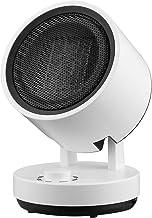 WXDL Portátil Eléctrico Calefactor Ceramico Personal Calefactor de Aire Caliente, 2 en 1 Modo Frío y Calor Protección contra Sobrecalentamiento y Vuelco Mini Calentador de Ventilador