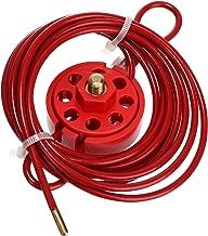 Angoily Kabel Hangslot Lockout Kabelslot Industriële Klep Machine Veiligheidsslot Apparatuur Shutdown Lock Voor Werkt Thui...