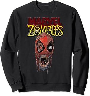 Marvel Zombies Deadpool Zombie Head Sweatshirt