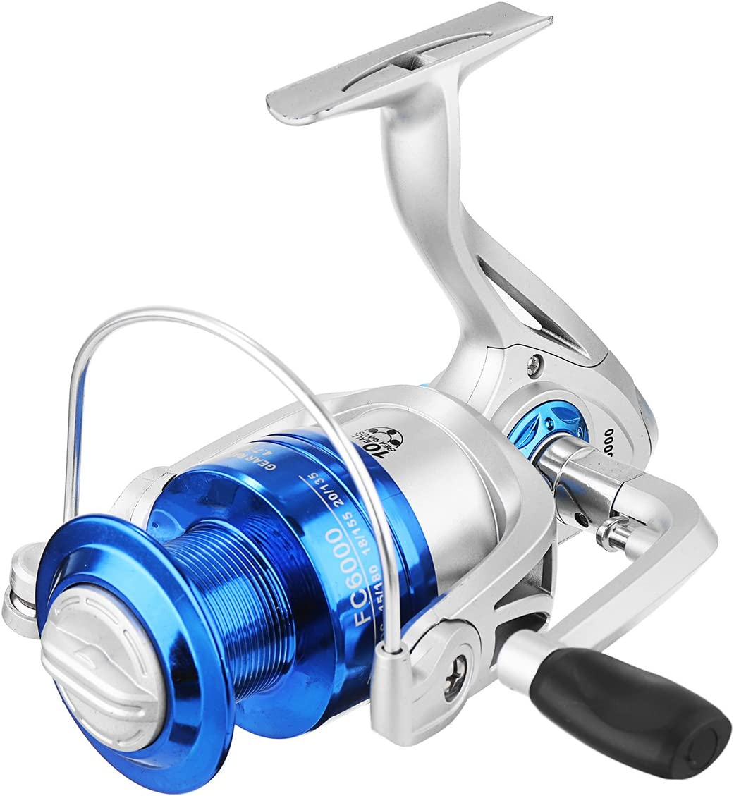 Ochoos Courier shipping free shipping FC1000-6000 5.2:1 4.7:1 Max 77% OFF 8BB Reel Se Fishing Spinning Blue