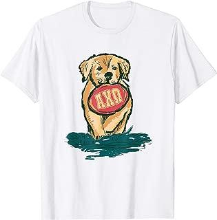 Alpha-Chi-Omega Sorority Golden Retriever Mom Greek T-Shirt