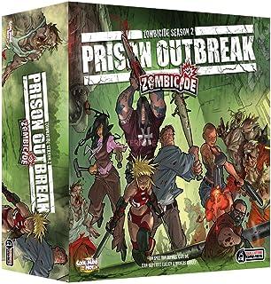 Asmodee Zombicide Season 2: Prison Outbreak, grundspel, expertspel, Dungeon Crawler, tyska
