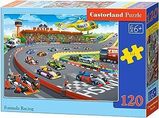 Castorland B-13470-1 Formula Racing, 120 delar pussel, färgglada