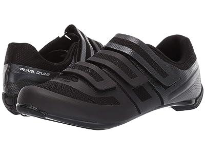 Pearl Izumi Quest Road Cycling Shoe (Black/Black) Women