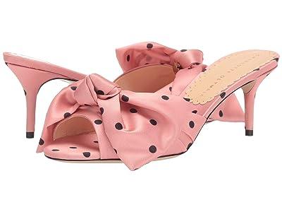 Charlotte Olympia Lola Mule w/ Bow (Pink) Women