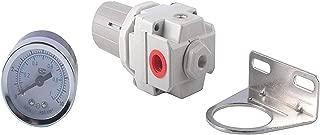 Podoy D27253 Compressor Air Compressor Regulator for Craftsman 4 Port Devilbiss w/Gauge D27253 Craftman Regulator
