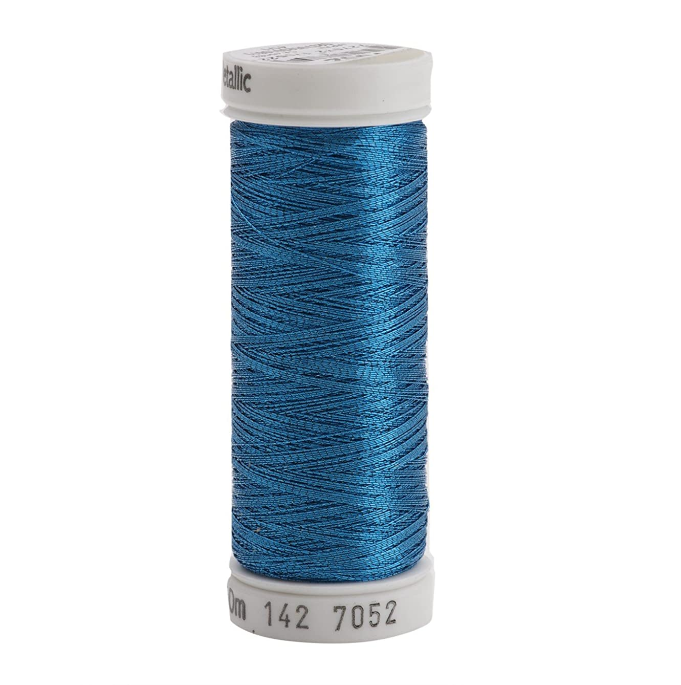 Sulky 142-7052 Metallic Thread for Sewing, Peacock Blue