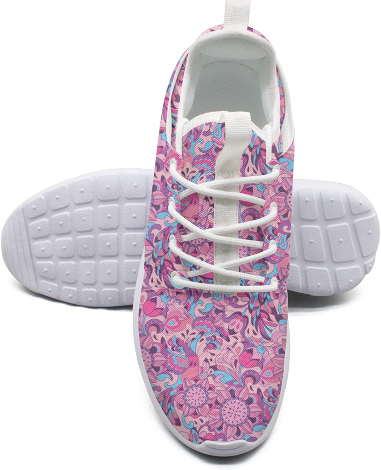 ERSER Red Sunflowers Delivery Running shoes Wide Women