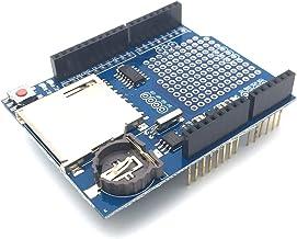 AptoFun 数据记录器模块日志屏蔽/数据记录器屏蔽/数据记录器屏蔽/数据记录屏蔽 适用于 Arduino UNO SD MN OVP