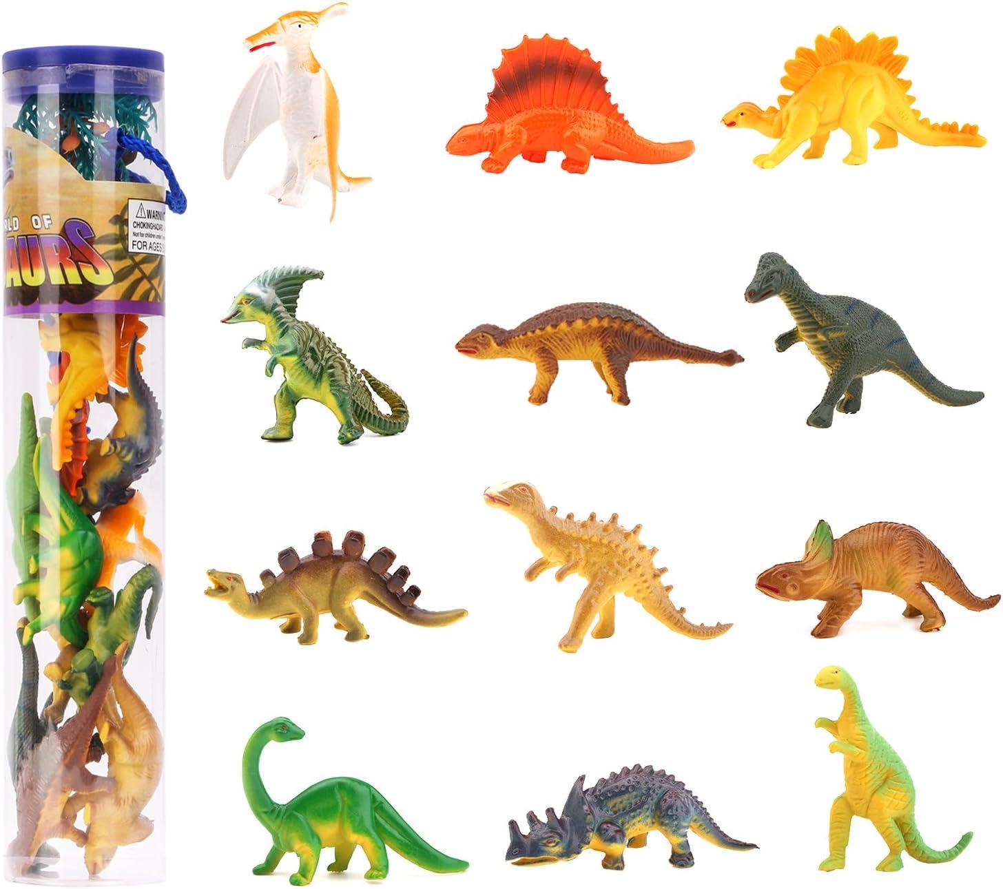 Zooawa Mini Dinosaur Inexpensive Toys 12 Pcs Assort Ranking TOP17 Play Set