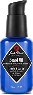 Jack Black - Beard Oil - with Kalahari Melon Oil & Vitamin E, 1 fl oz