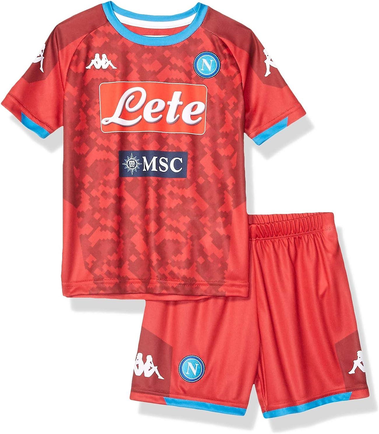 SSC Napoli Kit de segunda equipaci/ón para ni/ños temporada 2019//2020
