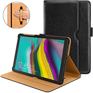 Galaxy Tab S5e Case 2019 [SM-T720/SM-T725], DTTO Premium Leather Folio Cover with Hard Back for Samsung Galaxy Tab S5e 10.5 inch Tablet 2019 Released [Auto Sleep/Wake], Black