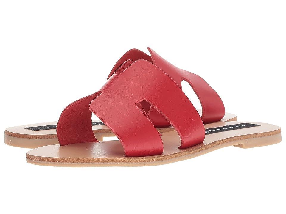 Steven Greece Sandal (Red Leather) Women