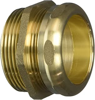 EZ-FLO 35403 Brass Trap Adapter Male with Slip Joint Nut and Compression Ring, 1-1/2-inch MIP x 1-1/2-inch Outside Diameter
