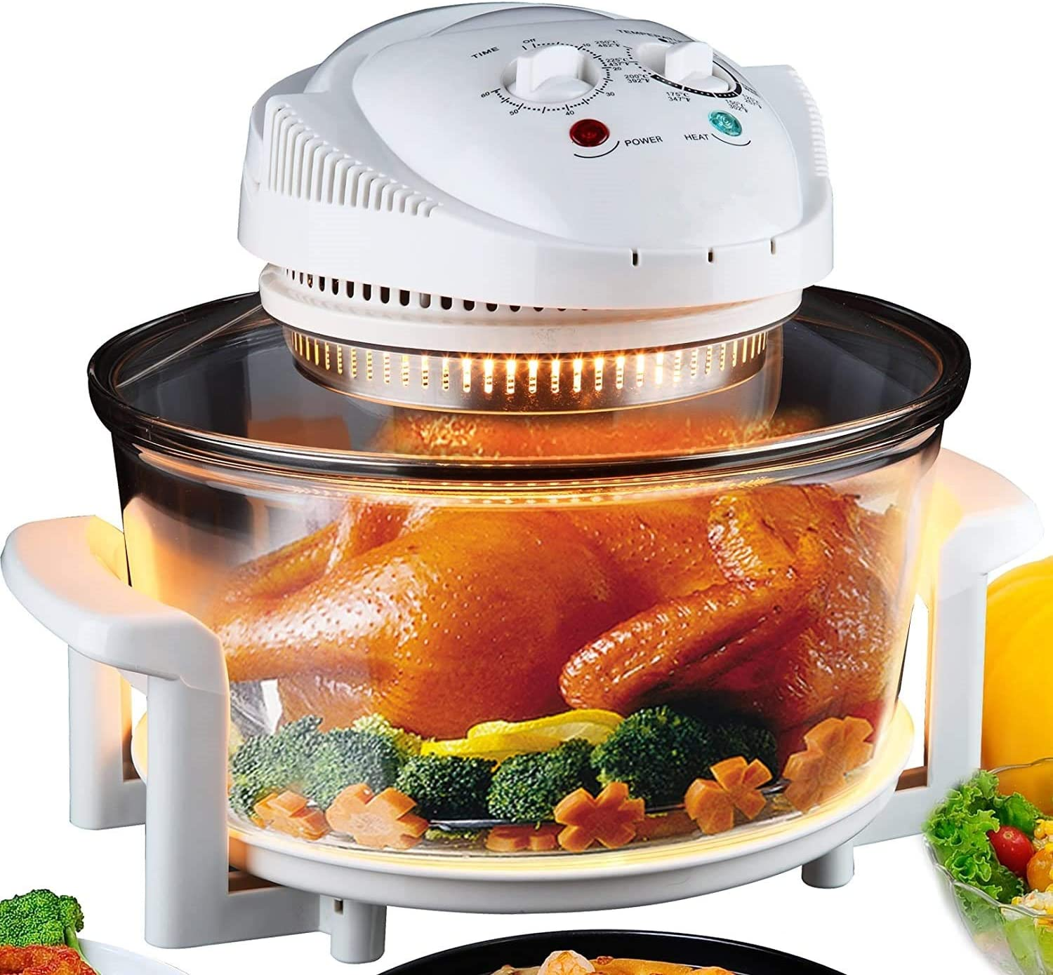 Electric Air Fryer Turbo Free Shipping New Arlington Mall Convection Oven Halogen Roaster Steamer