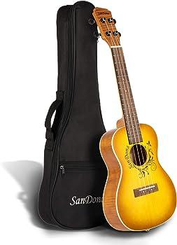 SANDONA Acoustic Electric Concert Ukulele