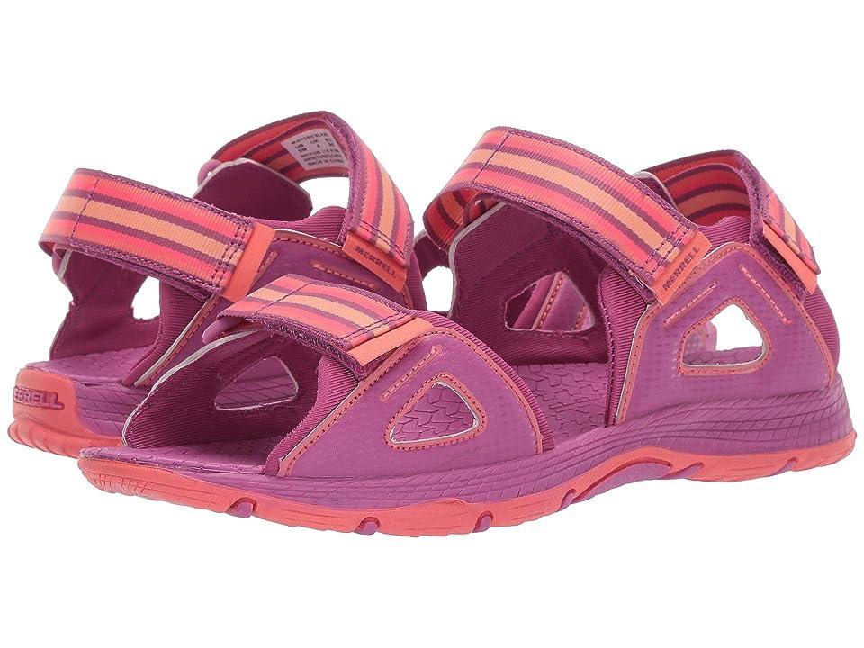 Merrell Kids Hydro Blaze (Toddler/Little Kid/Big Kid) (Purple/Coral) Girls Shoes