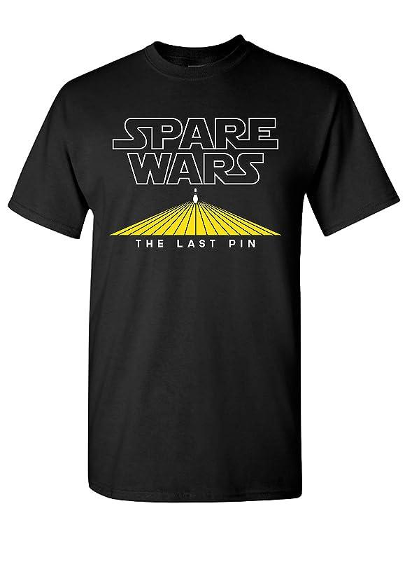 Strange Cargo Spare Wars Bowling Team Funny Parody Bowler League T-Shirt