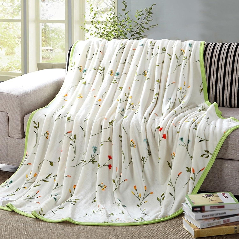 Cobija blancoo cálido Manta Material de poliéster Dormitorio Cama Manta Sala de Estar sofá Ocio Manta Suave y cómodo Tamaño  150  200 cm Rollsnownow