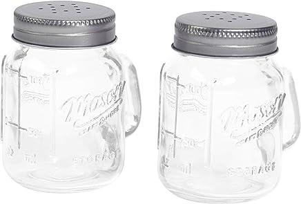 Mason Jar Salt and Pepper Shaker