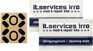IT-Services Irro 2 Glides ratón/Juegos de Patines/Alfombrillas de ratón/adecuados para el ratón del PC Logitech G102 Prodigy / G203 Prodigy/G Pro Incl. 2 Almohadillas de Limpieza