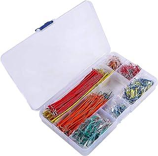 ZHITING Jumper Wire Kit, 840 stuks Voorgevormde Breadboard Jumper Wire Kit,14 lengtes Diverse Jumper Wire voor Breadboard ...