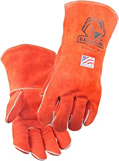 Black Stallion 101A Premium Cowhide Stick Welding Gloves 16
