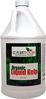 Liquid Kelp Organic Seaweed Extract 1 Gallon Fertilizer Concentrate