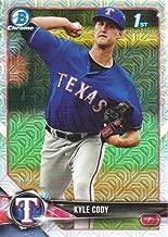 2018 Bowman Chrome Mega Box Baseball Prospects Refractors #BCP62 Kyle Cody Texas Rangers