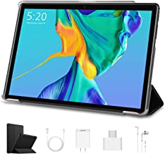 10.1 inch Tablets, Android 9.0 Quad-Core WiFi Tablets, 8000mAh, 3 GB RAM, 64 GB Storage, 1920 x 1200 IPS Display, Dual Cam...