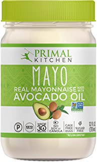Primal Kitchen, Mayo with Avocado Oil, 12 Fl Oz (Pack of 1)
