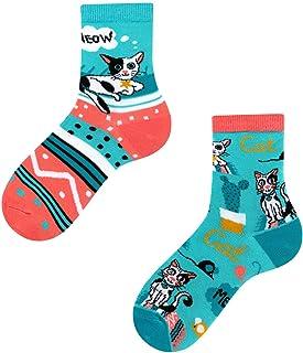 TODO Calcetines para niños de Colours Cats Life Kids, con diseño de animales coloridos y divertidos para niñas y niños