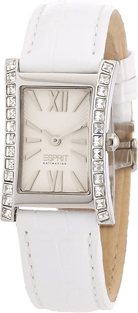 Esprit,orologio per donna,cinturino in pelle e cassa in acciaio EL101122F02