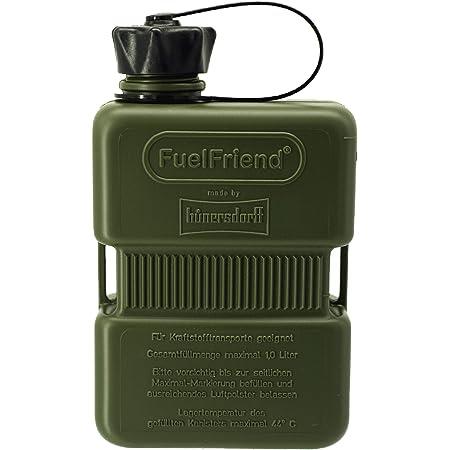 Fuelfriend Plus 1 0 Liter Sonderserie Oliv Klein Benzinkanister Mini Reservekanister Auto