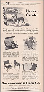 RelicPaper 1950 Abercrombie & Fitch: Home Friends, Giving and Receiving, Abercrombie & Fitch Print Ad