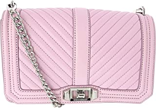 Rebecca Minkoff Women's Chevron Quilted Love Crossbody Leather Cross Body Bag