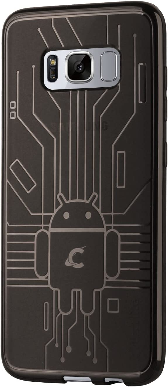 Cruzerlite Cell Phone Case for Samsung Galaxy S8 - Smoke