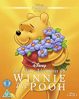 Many Adventures of Winnie the Pooh Region Free
