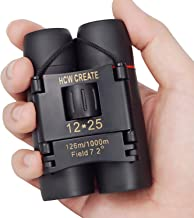 HCW CREATE 12x25 Mini Folded Binocular for...