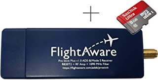 FlightAware Pro Stick Plus ADS-B USB Receiver with Built-in Filter + MicroSD