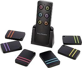 $20 » Hyrrt Key Finder, Wireless RF Item Locator, 1 Transmitter with 6 Receivers, Key RF Locator, Pet Tracker Wallet Tracker