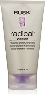 RUSK Designer Collection Radical Creme Thickening and Texturizing Crème, 4 Oz