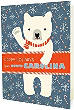 product image for Night Owl Paper Goods Polar North Carolina Holiday Cards (10 Pack)