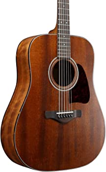 Ibanez Artwood Vintage Thermo Aged Solid Top Mahogany Acoustic Guitar