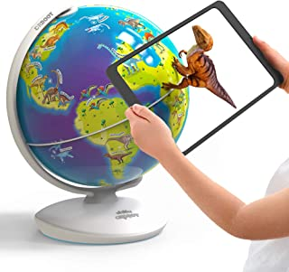 Orboot Dinos AR Globe by PlayShifu (App Based) - World of Dinosaur Toys, Educational Toy for Kids. Gift for Boys & Girls 4...
