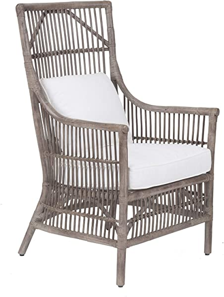 East At Main WR WS105 GR Edie Arm Chair Grey
